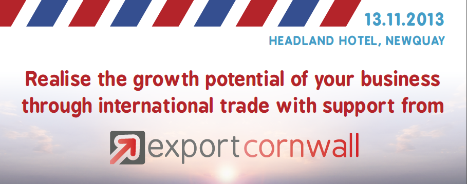 Export Cornwall Event