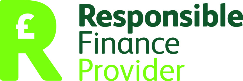 Responsible Finance Privider pound logo white background CMYK