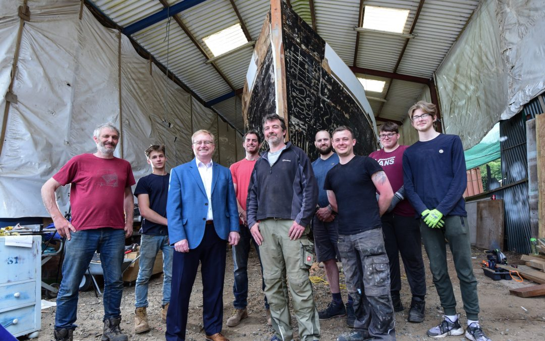 Investment fund backs Cornish boat building business
