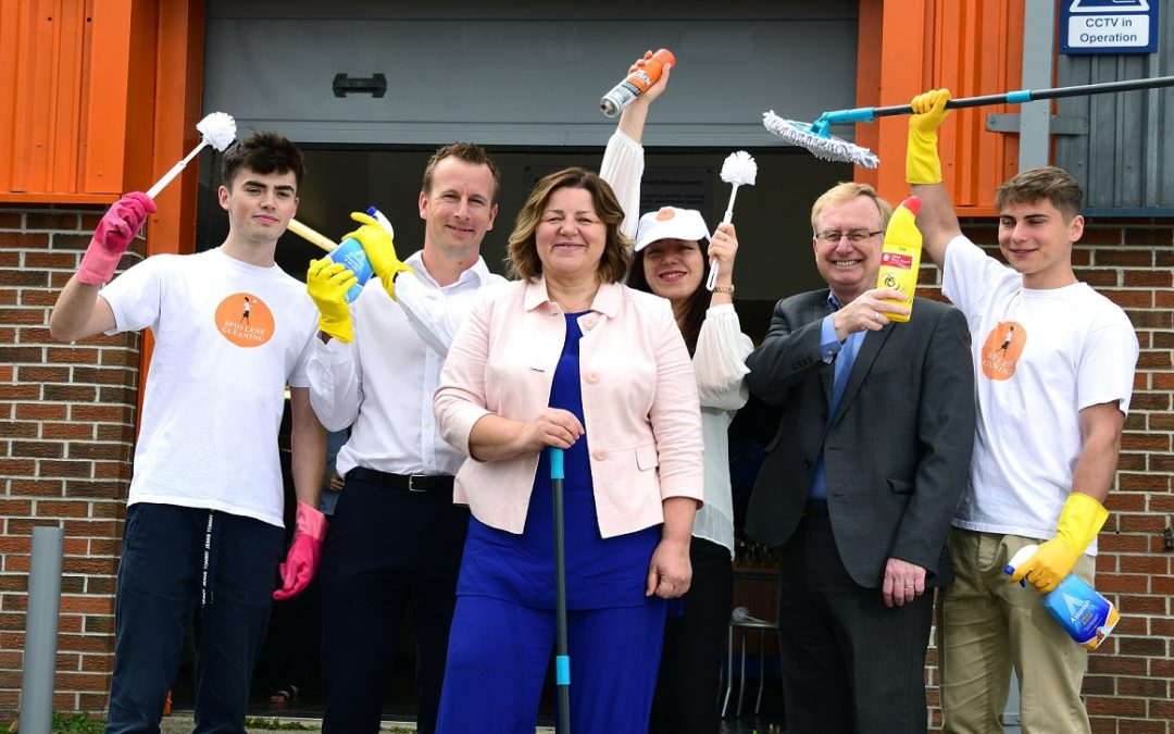 £55k loan helps Spotless Cleaning grow