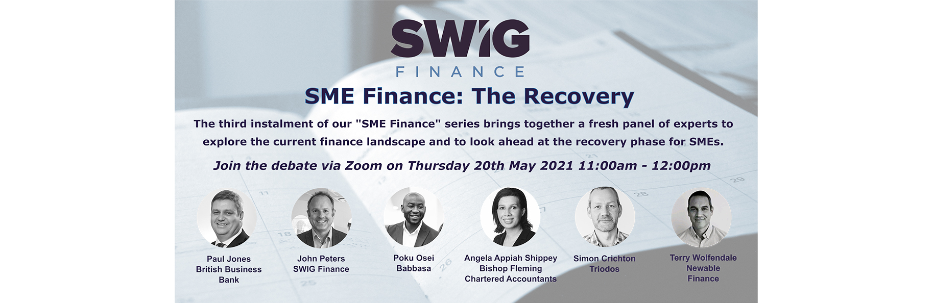 SME Finance: The Recovery – Join our Round Table Virtual Event