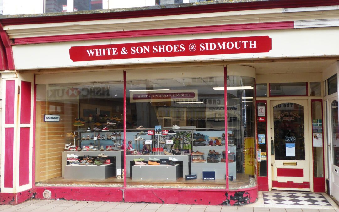 Sidmouth Shoe Shop Sets off on the Right Foot